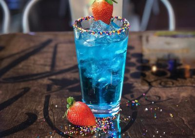 Blue Candy Drink