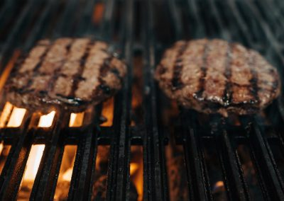 Flame Grilled Burgers